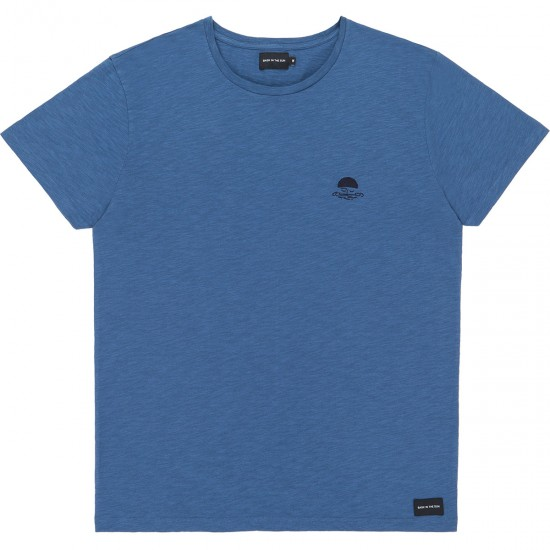 Bask in the sun - T-shirt bleu océan Sailor