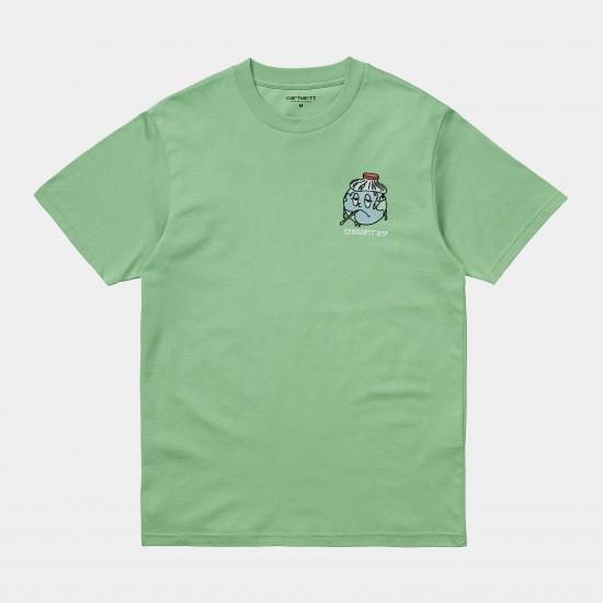 Carhartt WIP - T-Shirt vert homme World