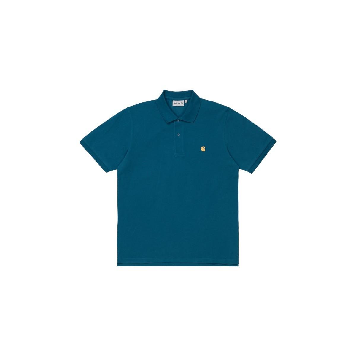 Carhartt WIP - Polo bleu pour homme