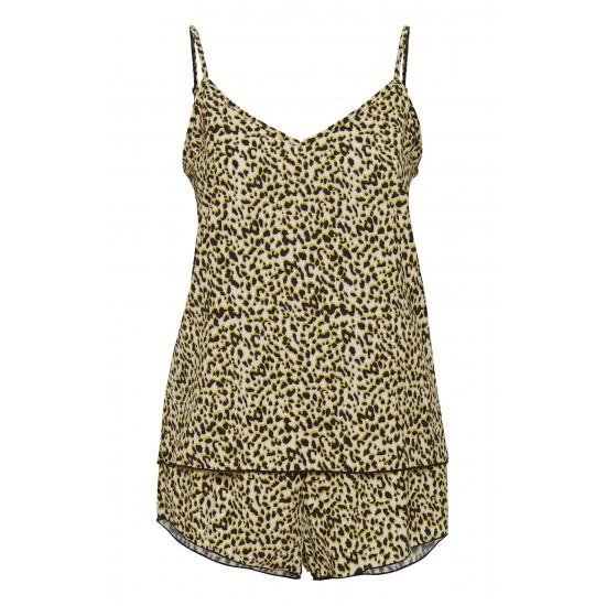 Ichi - Ensemble pyjama imprimé léopard femme