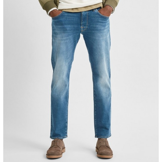 Selected homme - Jeans regular bleu clair