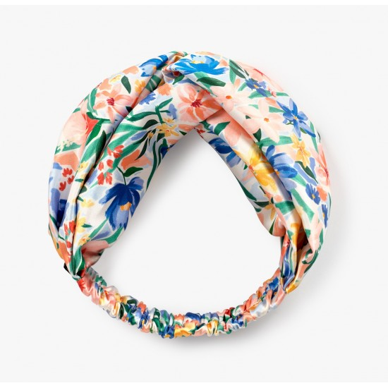 Wouf - Headband imprimé fleurs aquarelle