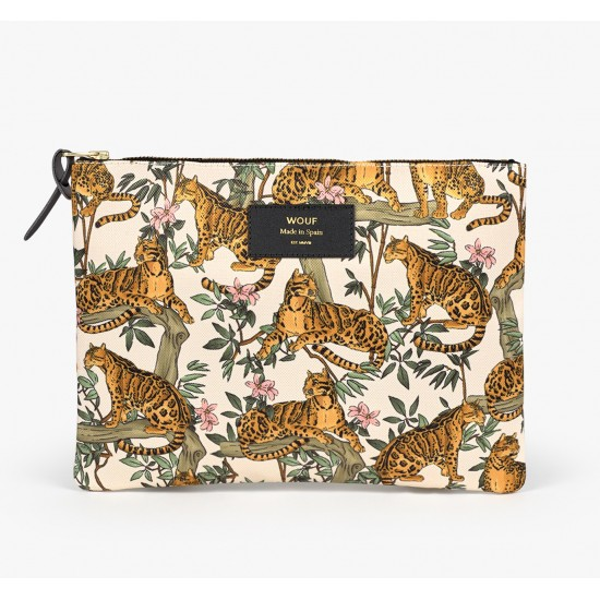 Wouf - Pochette XL motifs jungle