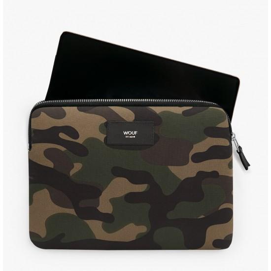 Wouf - Housse imprimé militaire pour tablette et iPad