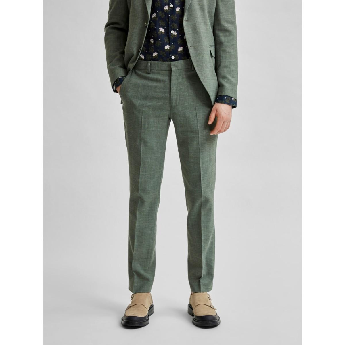 Selected - Pantalon costume vert