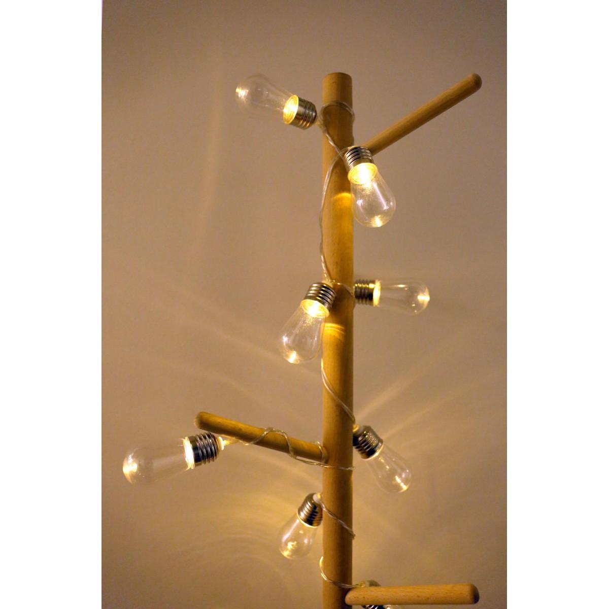 Kikkerland - Guirlande ampoule Edison