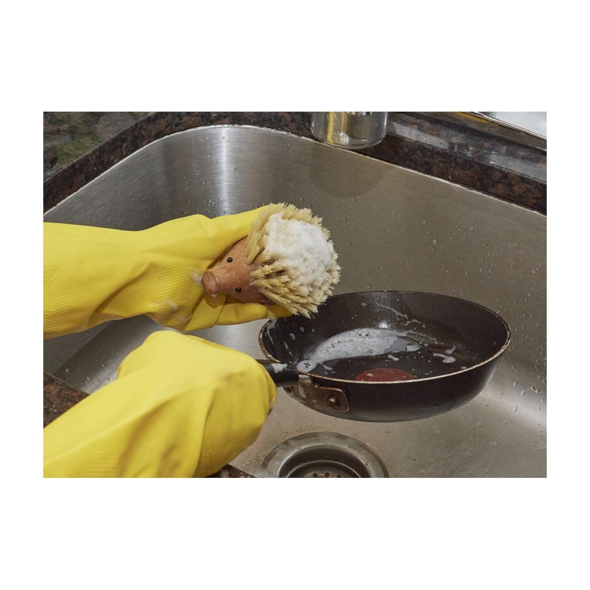 Kikkerland - Brosse à récurer hérisson