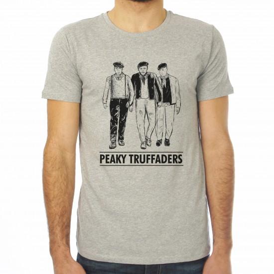 Saucisse Truffade - T-shirt homme Peaky Truffaders