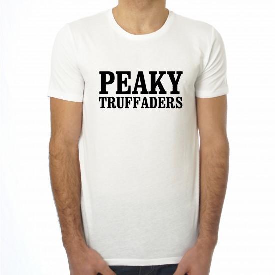 Saucisse Truffade - T-shirt homme Peaky Truffaders Typo