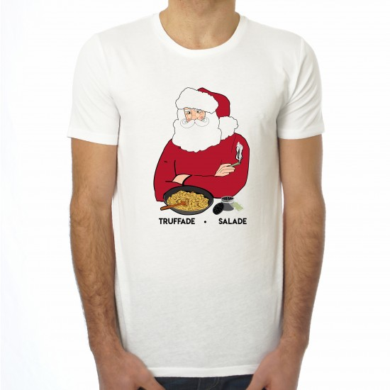 Saucisse Truffade - T-shirt homme Père Noël Truffade Salade