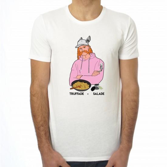 Saucisse Truffade - T-shirt homme Vercingétorix Truffade Salade