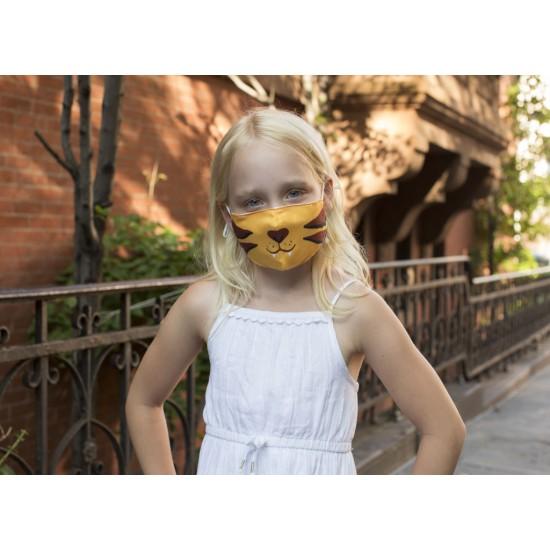 Kikkerland - Masque enfant tigre