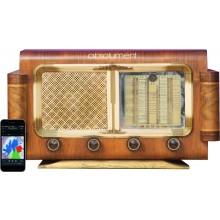 A.bsolument Vintage Radios - Enceinte salon Acton noir