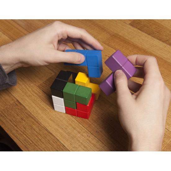 Kikkerland - Casse tête cube puzzle