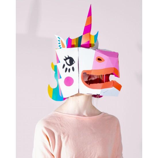 Omy - Masque 3D Lily la licorne