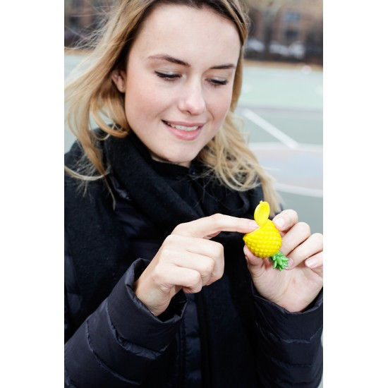 Kikkerland - Brillant à lèvres ananas