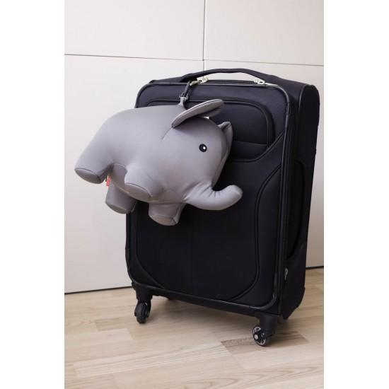 Kikkerland - Coussin de voyage éléphant