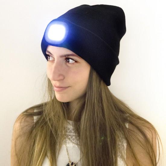 Kikkerland - Bonnet à frontale LED