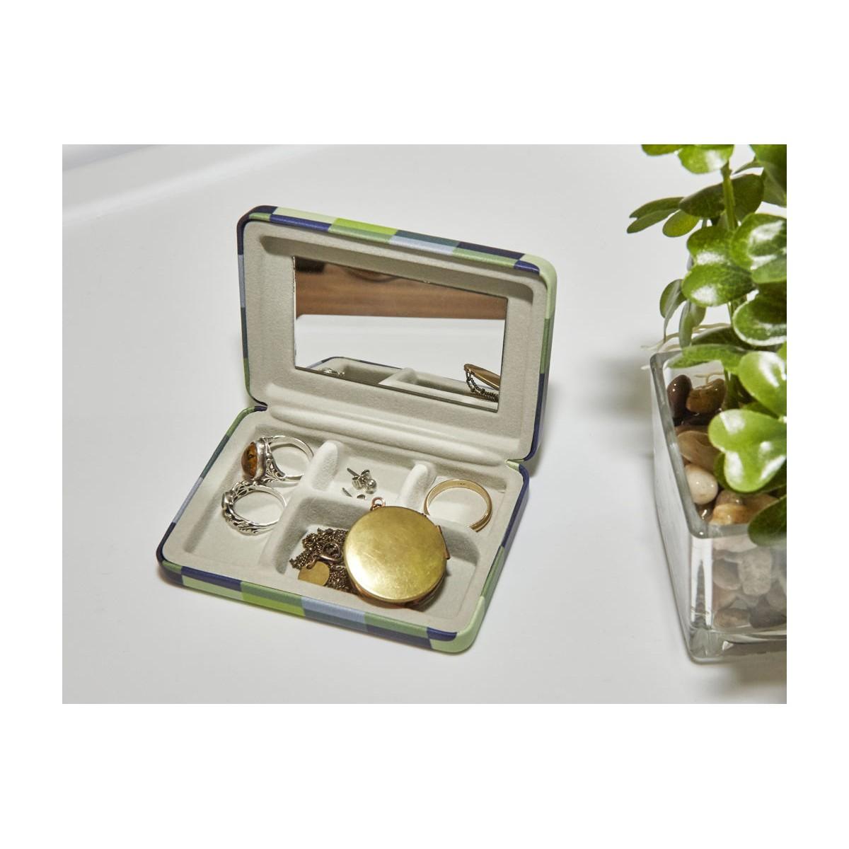 Kikkerland - Boîte à bijoux de poche
