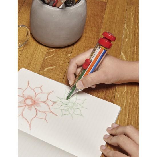 Kikkerland - Crayon 8 couleurs