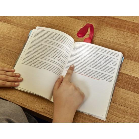 Kikkerland - Lampe de lecture clipsable
