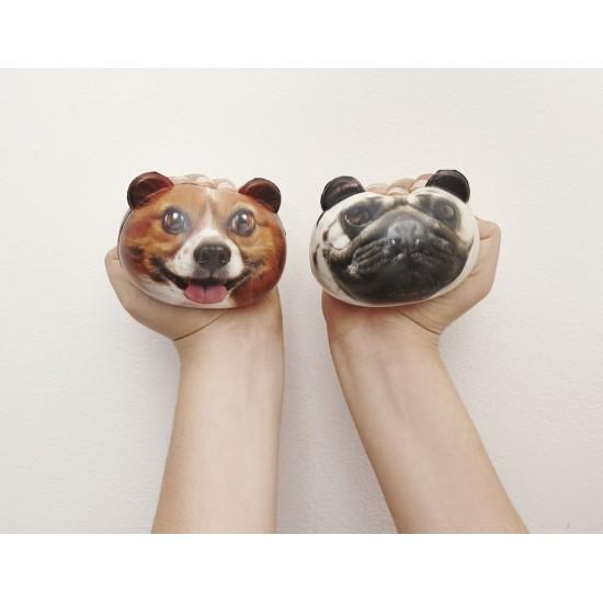 Kikkerland - Balle antistress chien