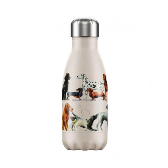 Chilly's Bottles - Bouteille réutilisable a imprimé chiens 260mL