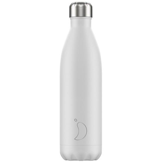 Chilly's Bottles - Bouteille réutilisable blanche 750mL