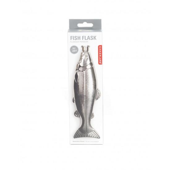 Kikkerland - Flasque poisson