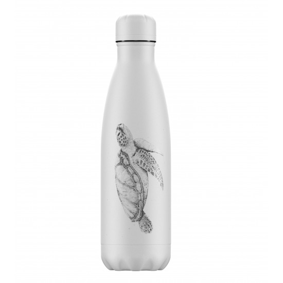 Chilly's Bottles - Bouteille réutilisable tortue 500mL