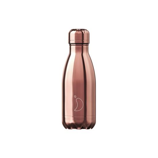 Chilly's Bottles - Bouteille réutilisable rose chrome 260mL