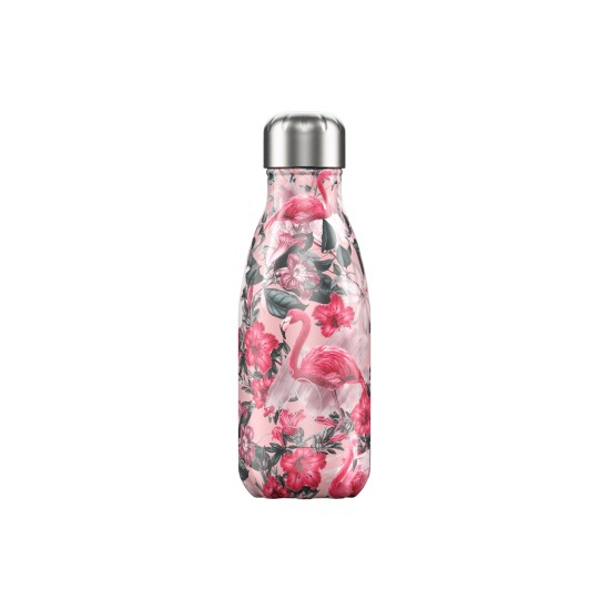 Chilly's Bottles - Bouteille réutilisable flamant rose 260mL
