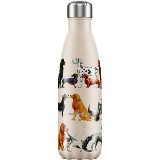Chilly's Bottles - Bouteille réutilisable a imprimé chiens 500mL