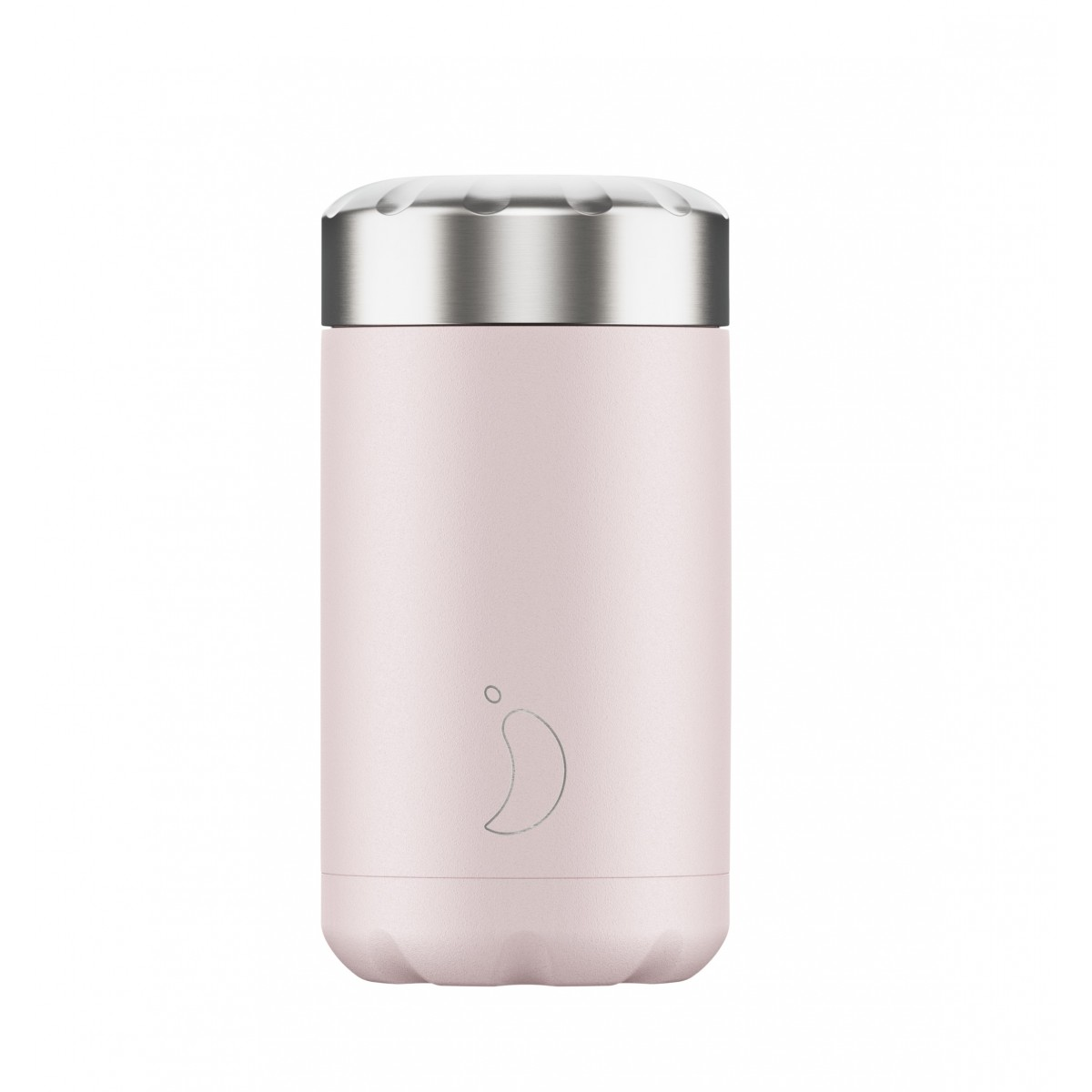 Chilly's Bottles - Boîte à repas réutilisable rose pâle