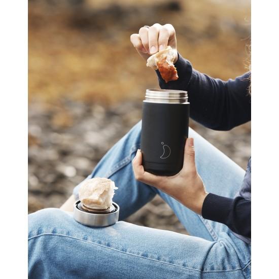 Chilly's Bottles - Boîte à repas réutilisable noir