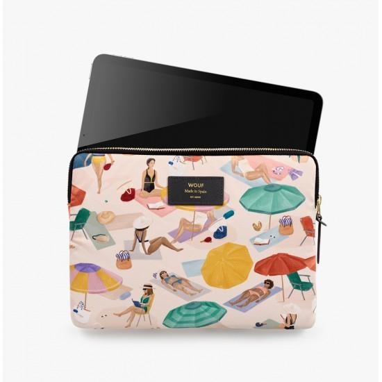 Wouf - Housse imprimé Barcelone pour tablette et iPad