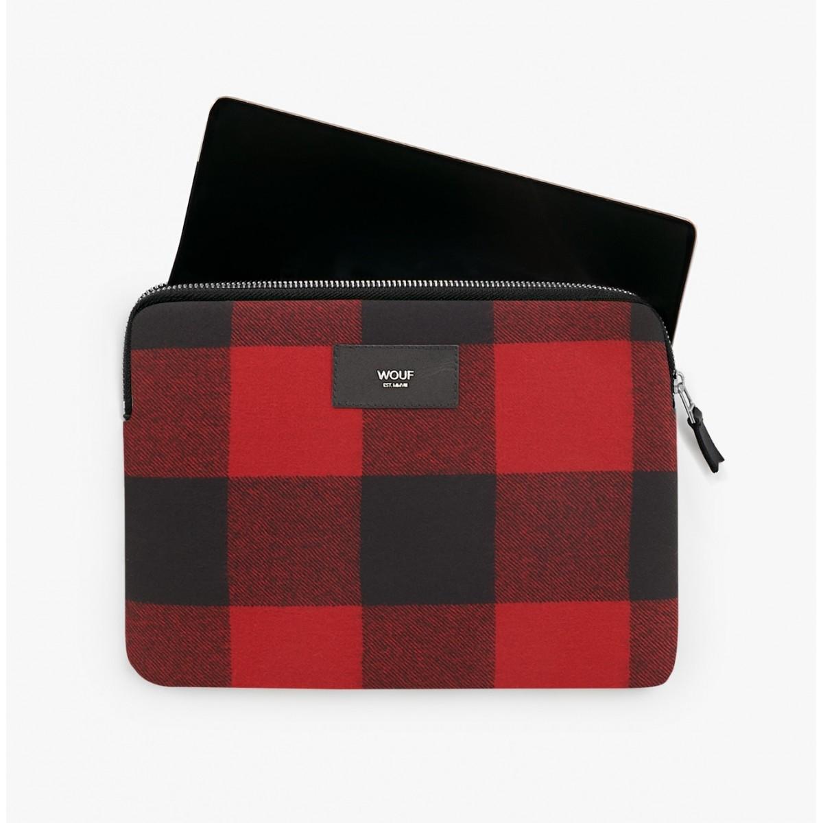 Wouf - Housse à carreaux pour tablette et iPad