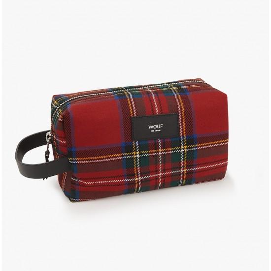 Wouf - Trousse de voyage motif écossais