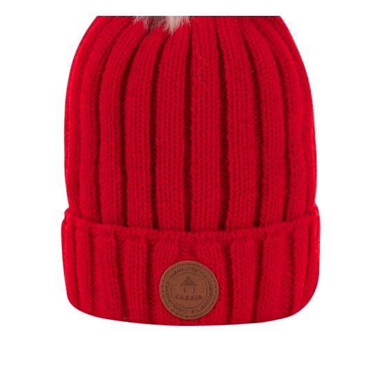 Cabaia - Bonnet Kir Royal rouge