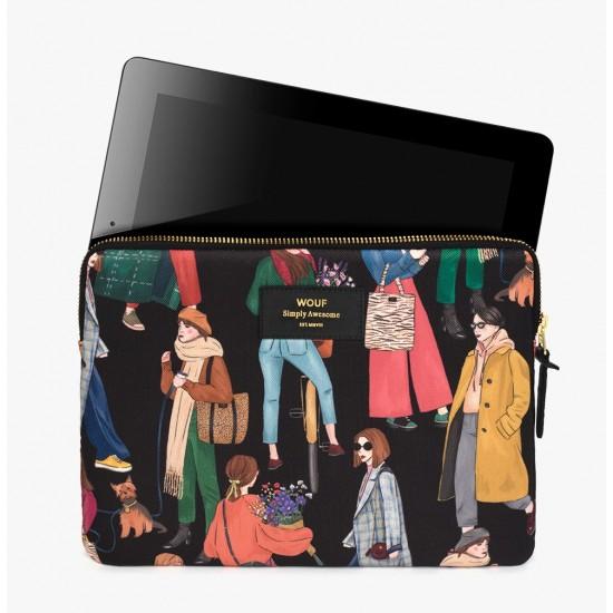 Wouf - Housse imprimé Femmes pour tablette et iPad