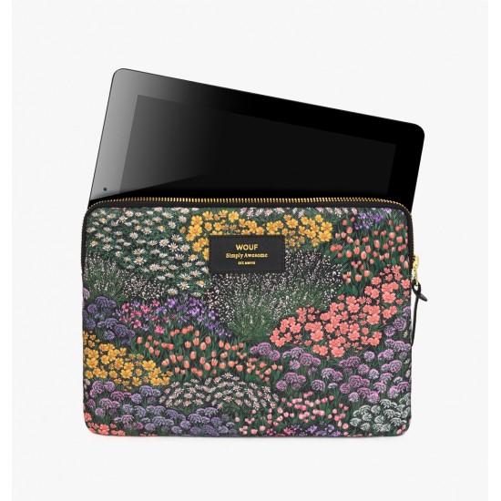 Wouf - Housse imprimé fleurs pour tablette et iPad