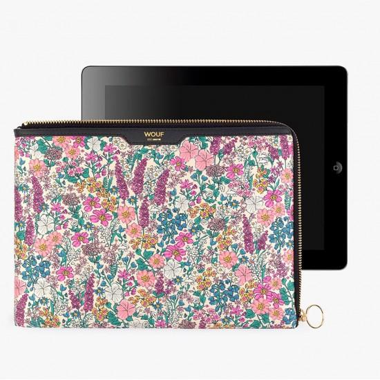 Wouf - Housse imprime liberty pour tablette et Ipad Sleeve