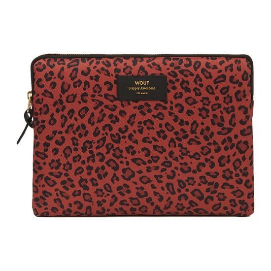Wouf - Housse imprimée léopard pour tablette et iPad