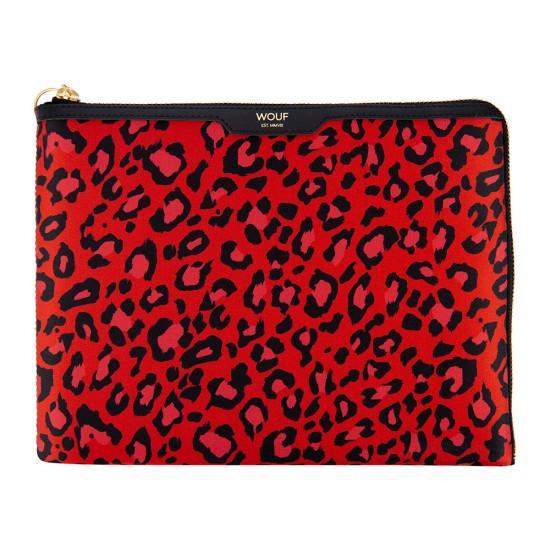 Wouf - Housse léopard pour tablette et Ipad Sleeve
