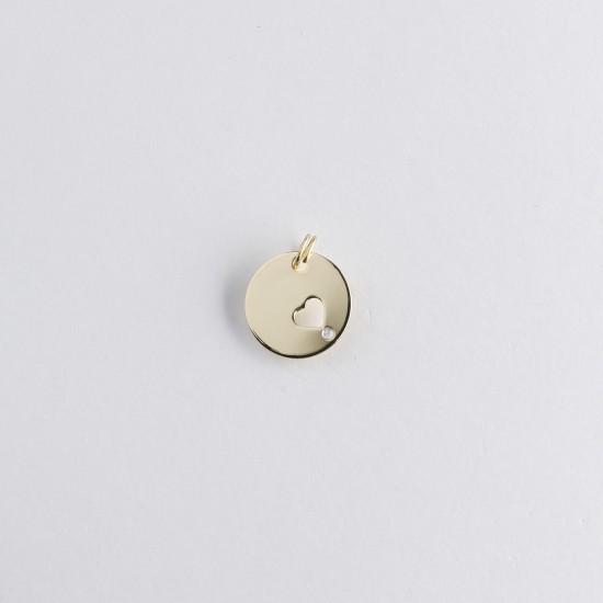Le Bijou de Mimi - Médaille coeur or