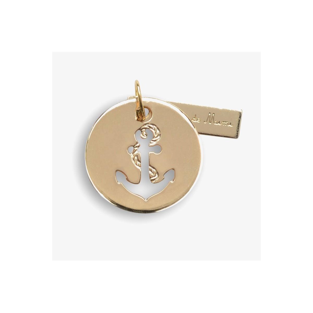 Le Bijou de Mimi - Médaille ancre or