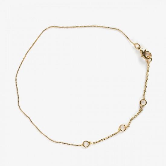 Le Bijou de Mimi - Bracelet réglable dorée