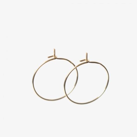 Le Bijou de Mimi - Boucle d'oreilles dorée