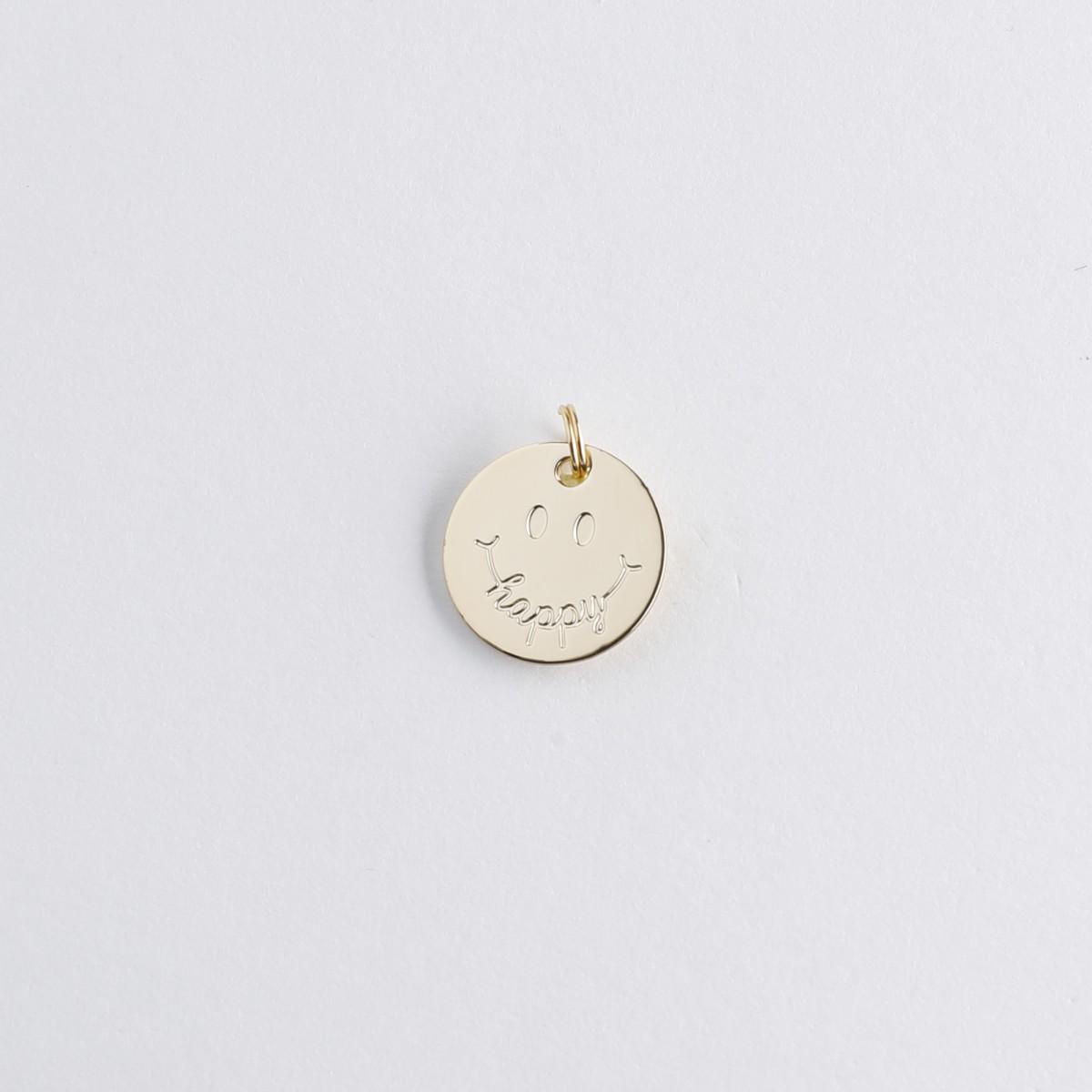 Le Bijou de Mimi - Médaille happy or