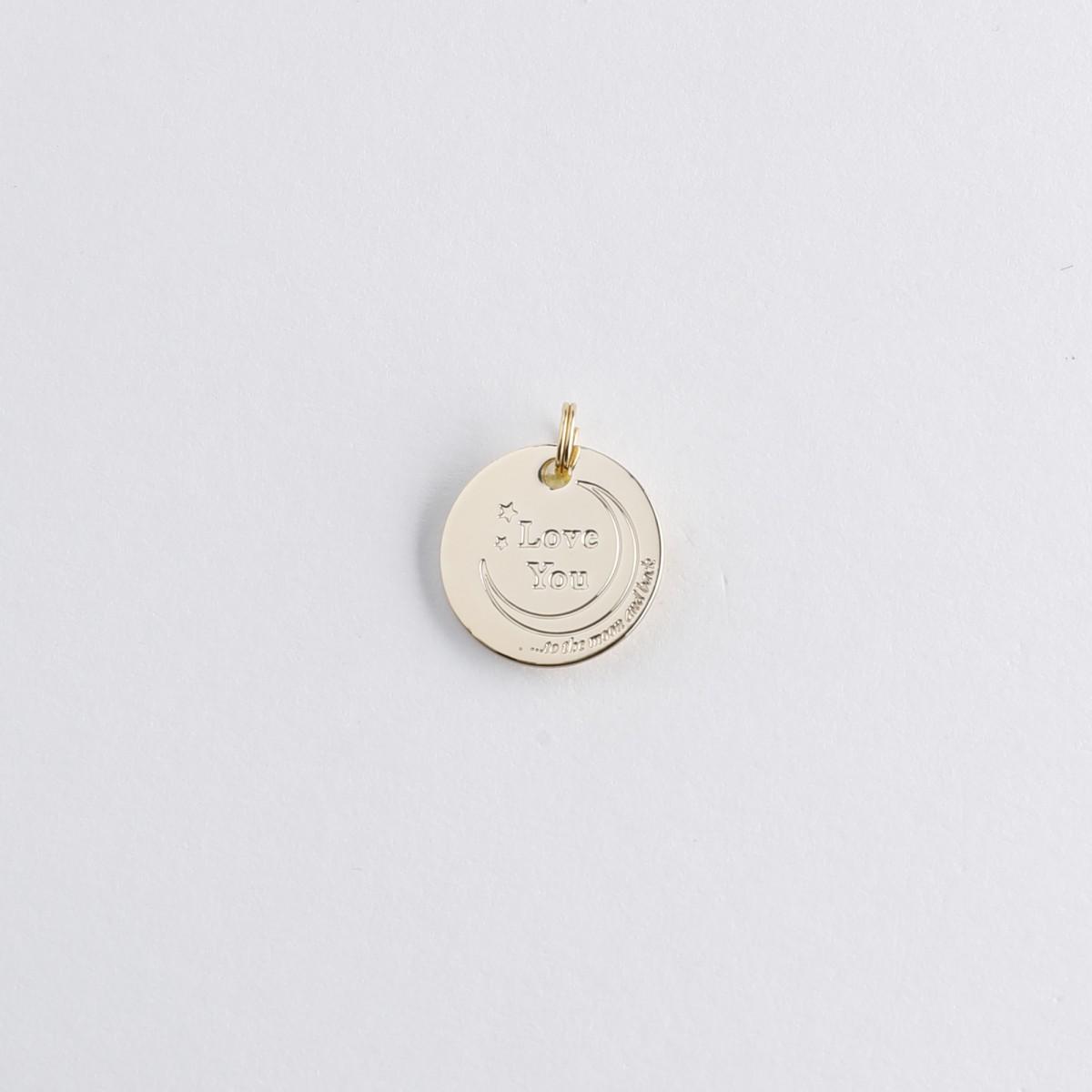 Le Bijou de Mimi - Médaille love you or